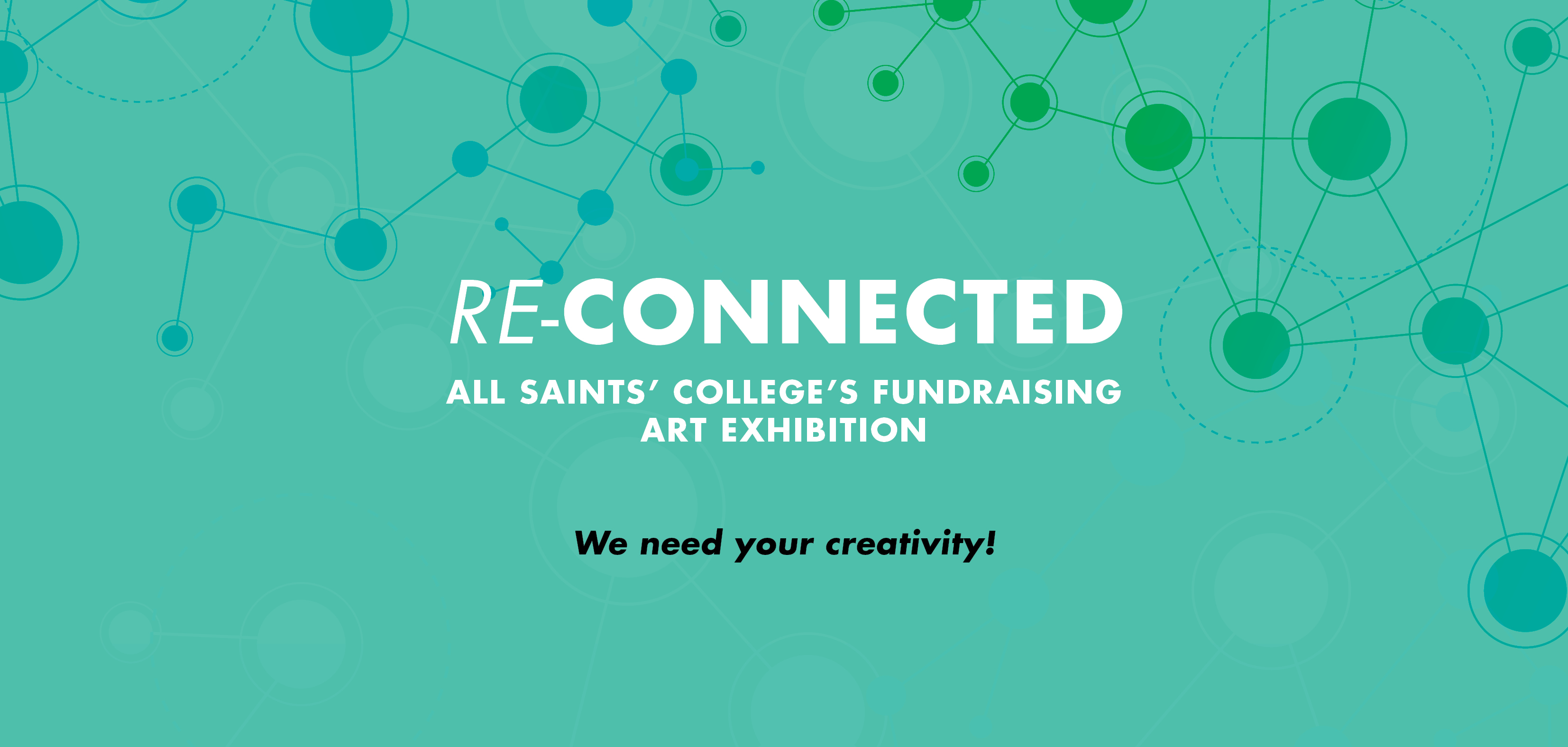 Re-connected All Saints' College Fundraising Art Exhibition